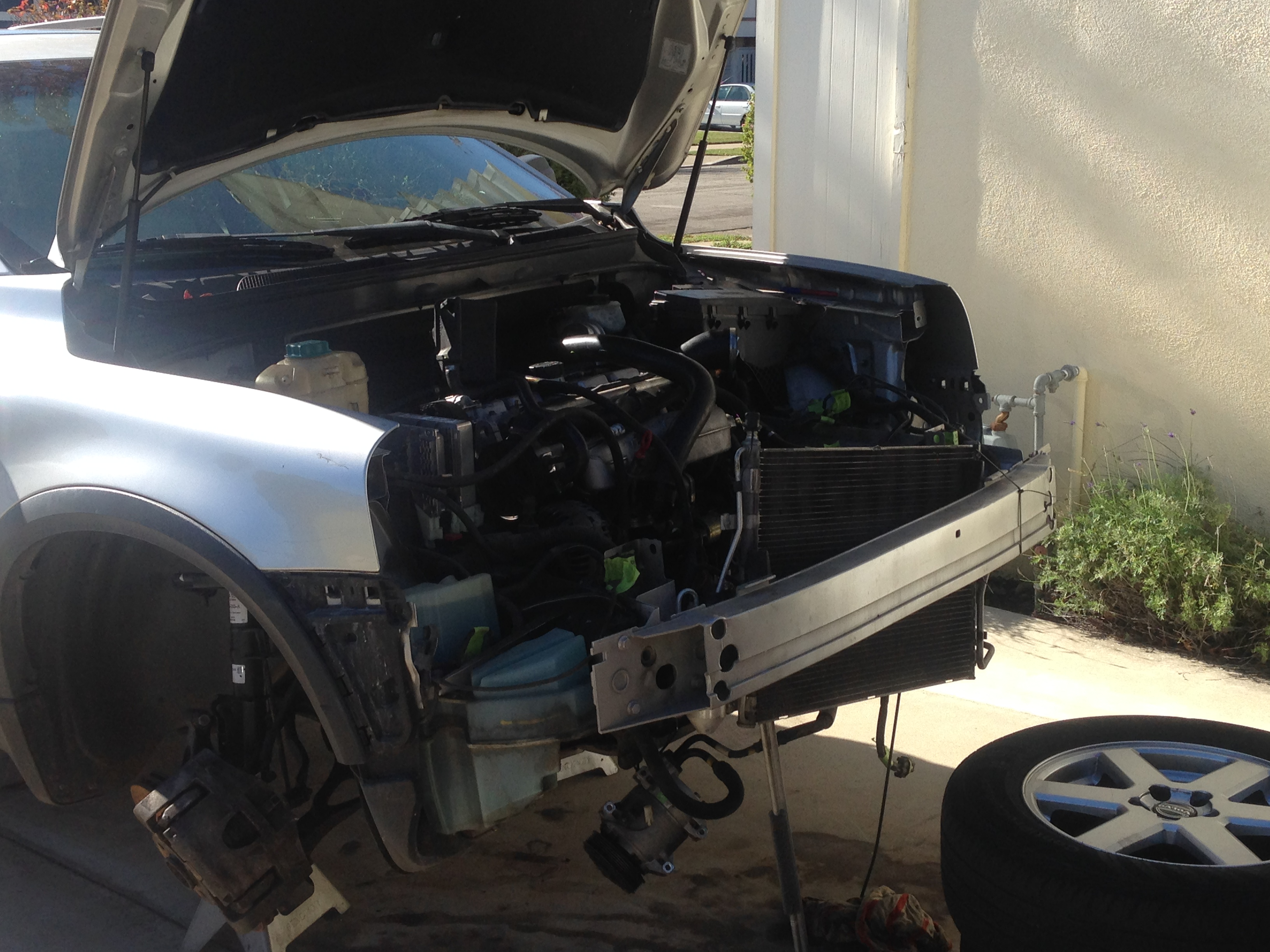 Engine removal/replacement project - Volvo Forums