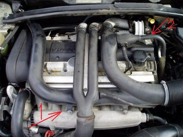 2000 S80 T6, oil leaking