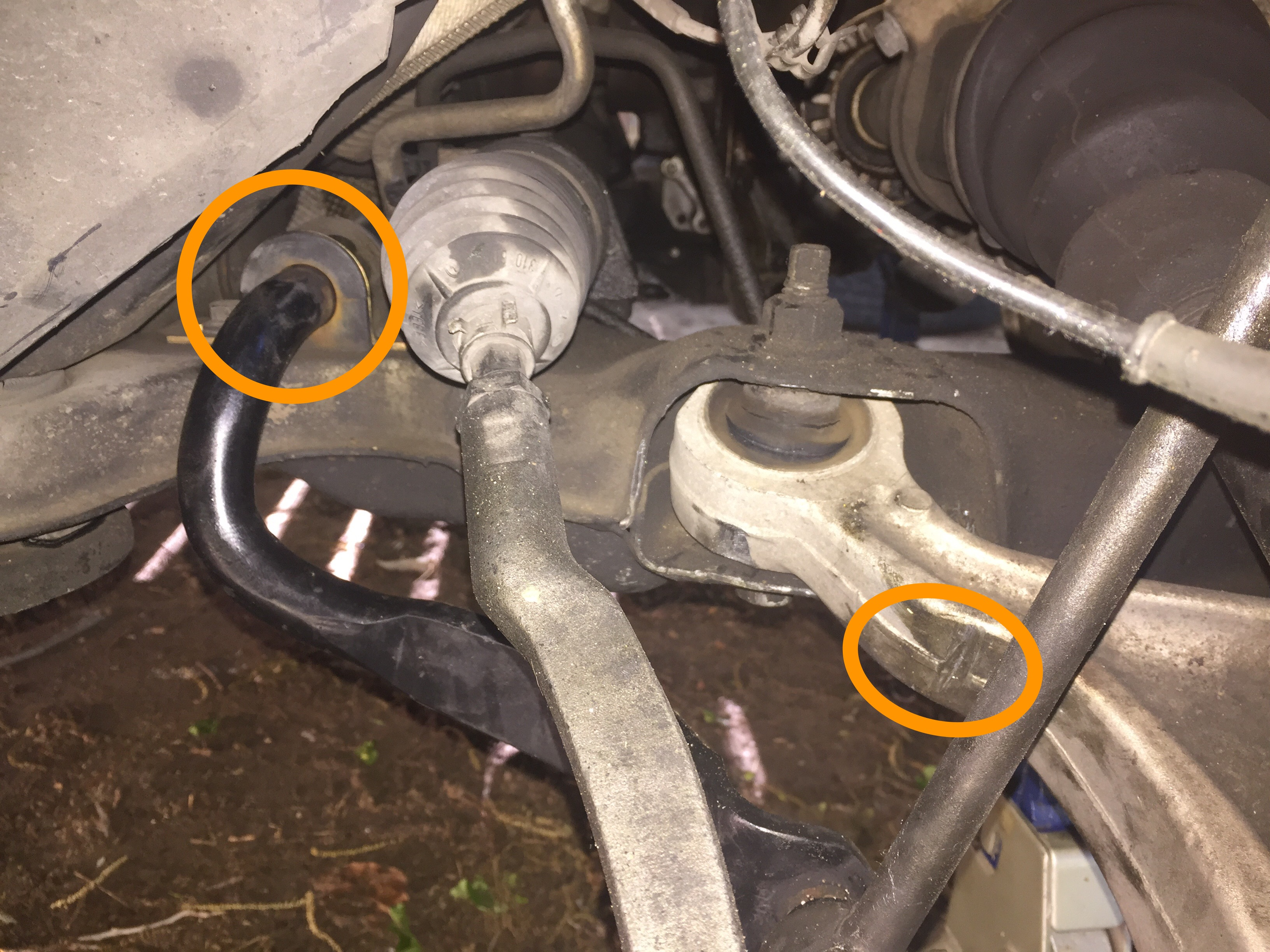 Sway bar / stabilizer bar rattle - Volvo Forums