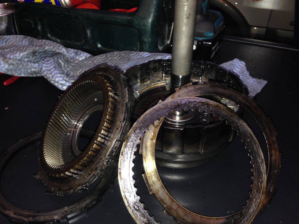 XC70 Transmission AW55-50SN No Drive - Problem found    C1
