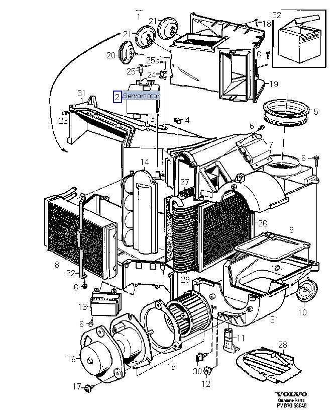 98 S90 vacuum reservoir location