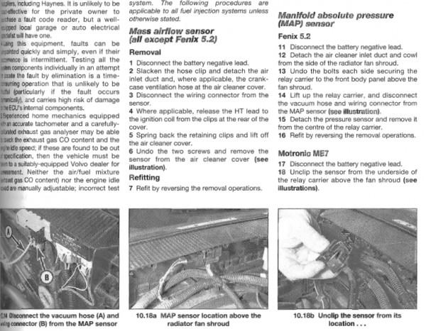 File on 1998 Volvo S70 Map Sensor Location