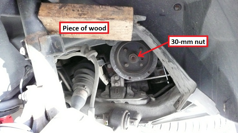 Procedure -- XC90 Timing Belt, Water Pump, and Serpentine Belt
