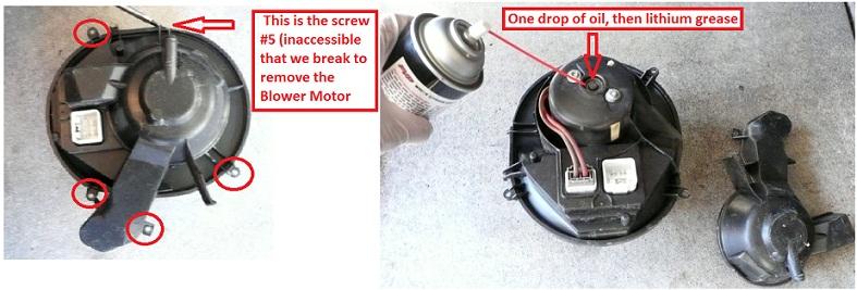Diy  2005 Xc90 2 5t Blower Motor Lubrication