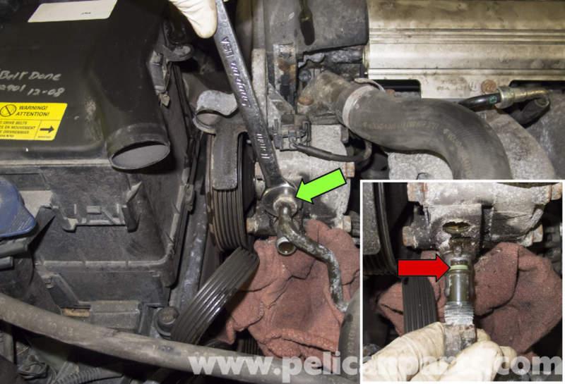 File on Power Steering Pump 1998 Volvo S90