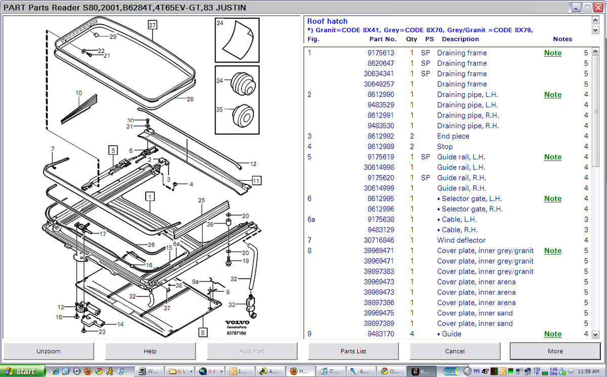 File on Volvo S70 Parts Diagram