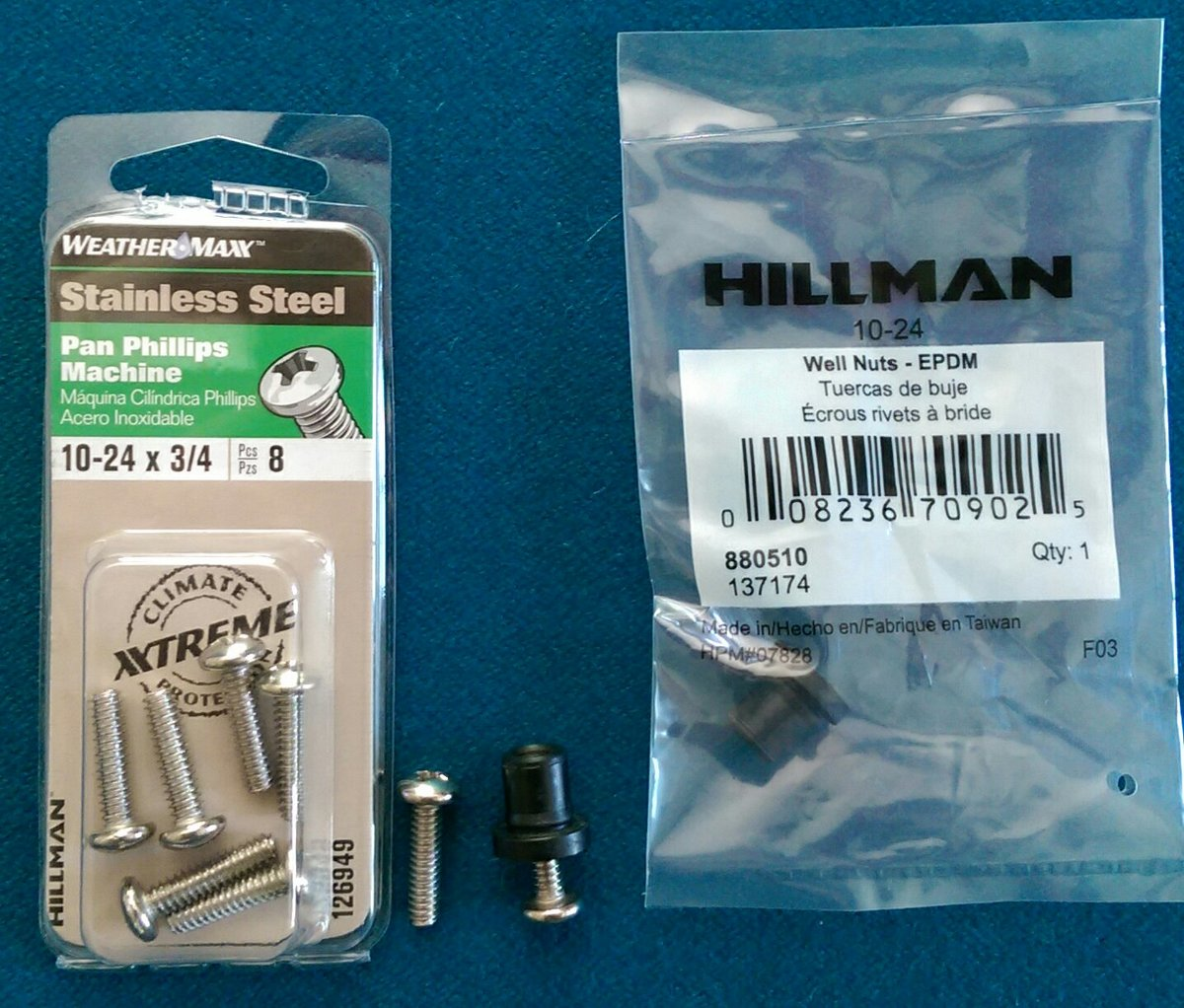 HPP OE License Plate Stainless Steel Screws for Volvo Models