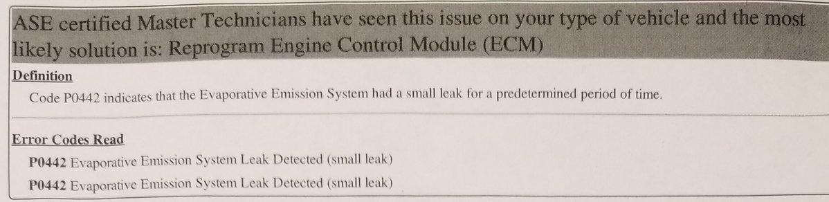 File on 1998 Volvo S70 Evap System