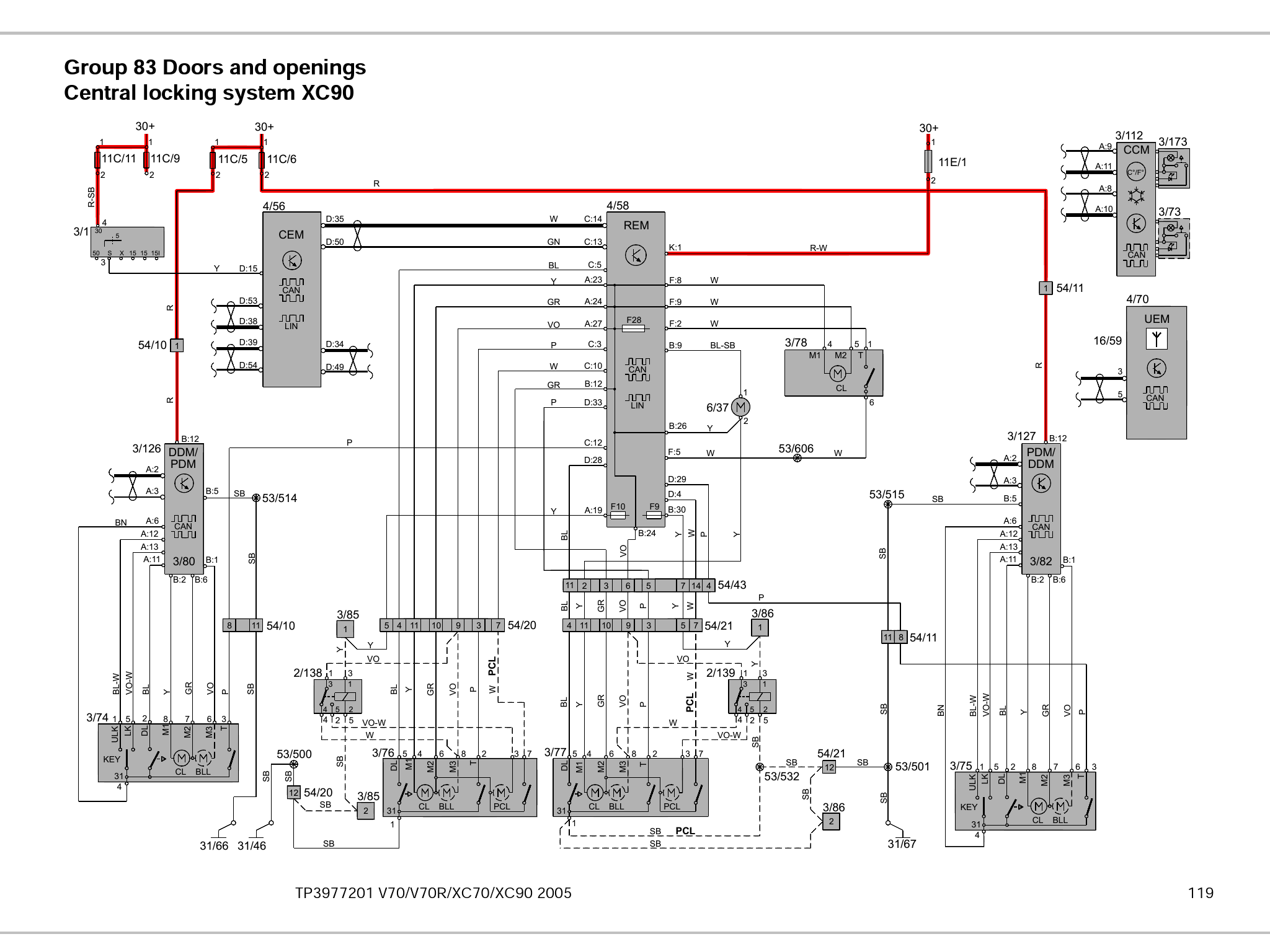[DIAGRAM] Volvo Xc90 2009 Electrical Wiring Diagram