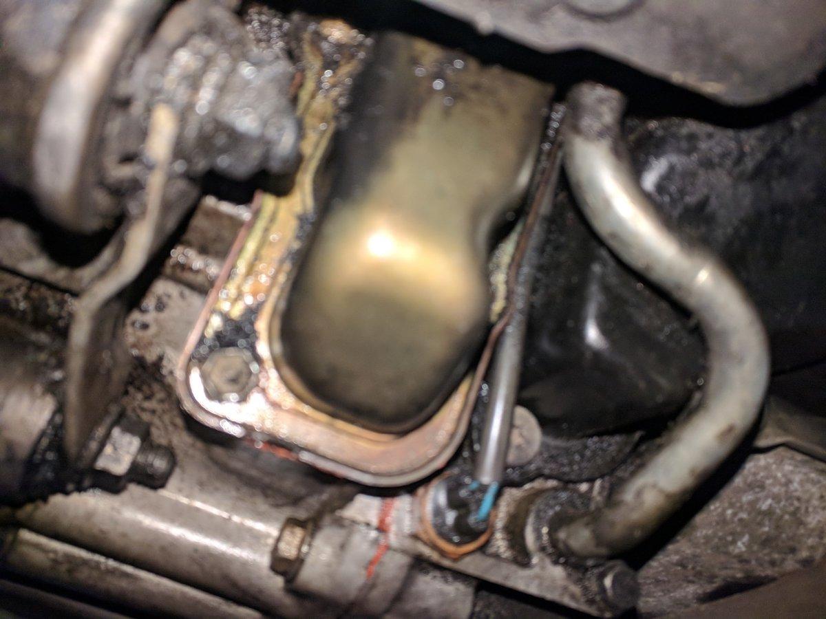 Help identify the part (850, transmission fluid leak