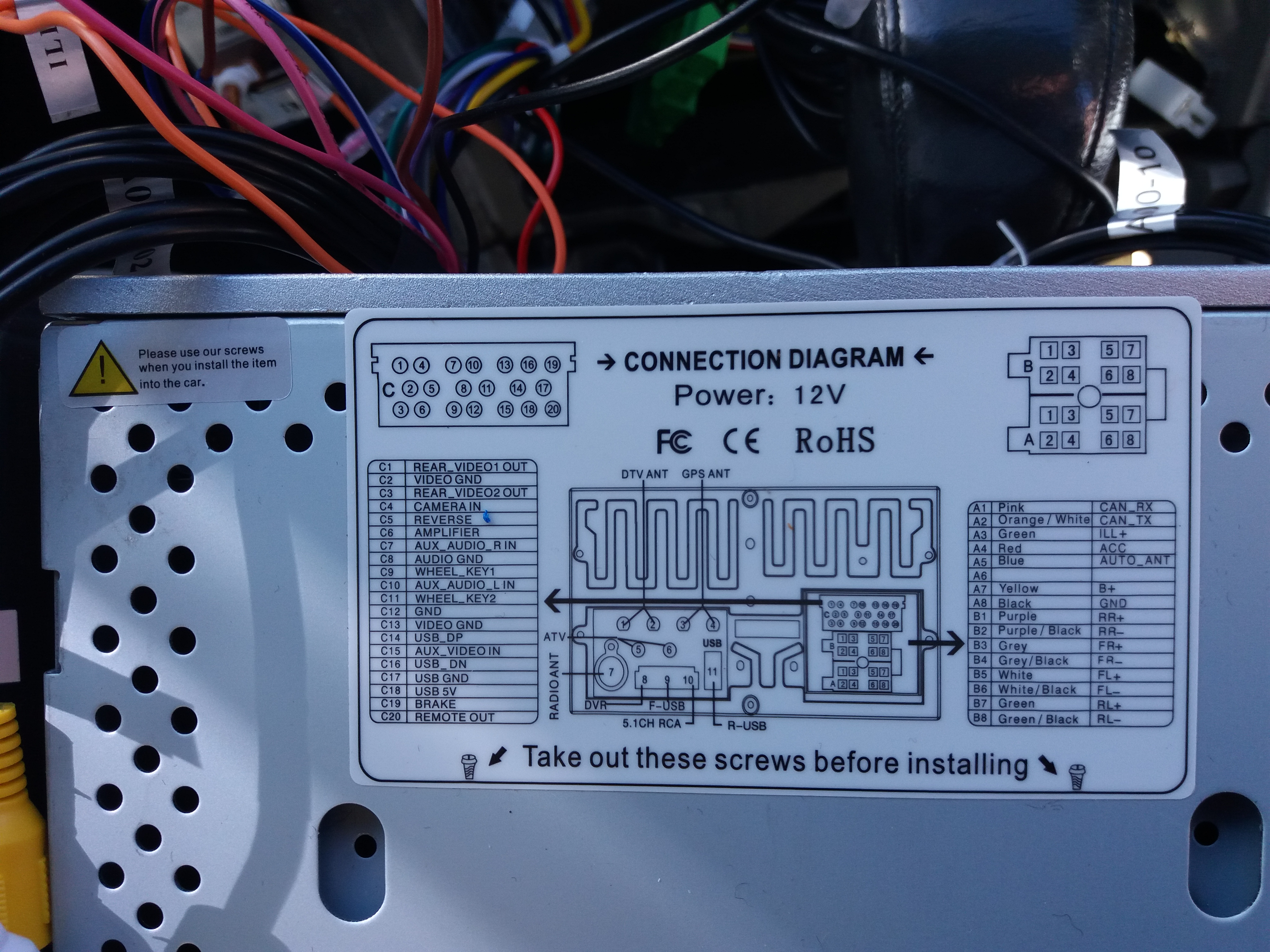 HU-803 stereo replacement help? - Volvo Forums