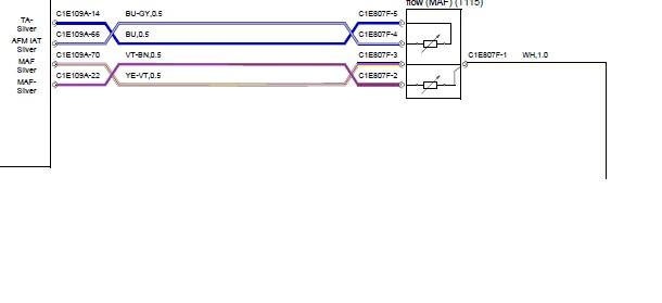 Maf sensor wiring diagram - Volvo Forums
