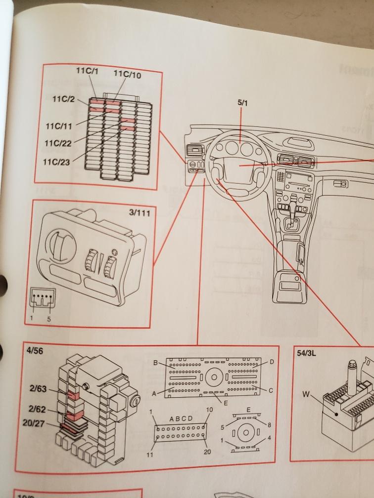 2004 volvo s80 fuse diagram 2004 xc70 high beam relay location   2004 xc70 high beam relay location