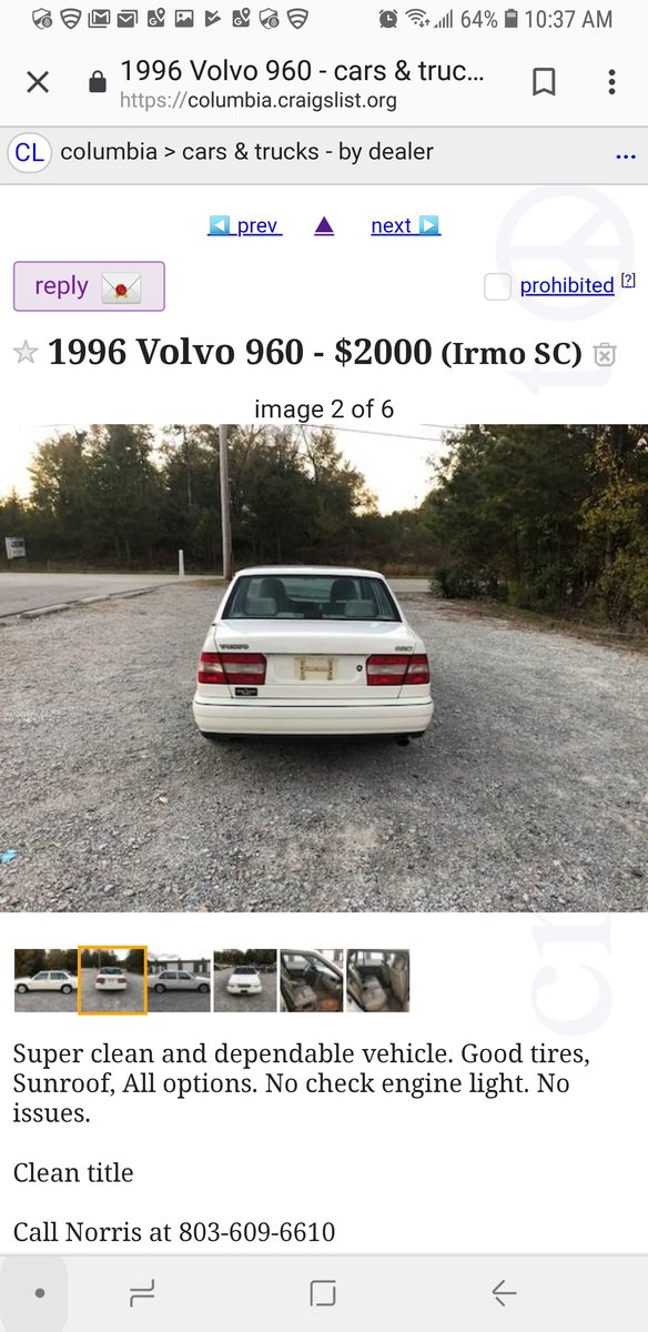 Dallas Craigslist Used Cars By Owner >> Volvo Findings What Have You Found On Craigslist Page