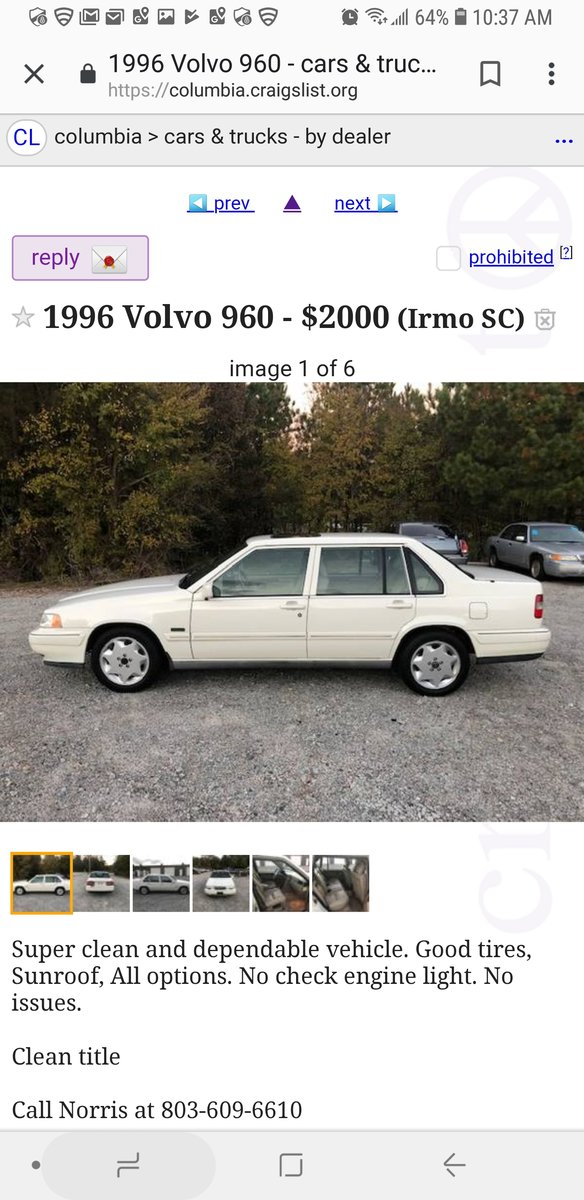 Volvo Findings! (What have you found on Craigslist?) - Page