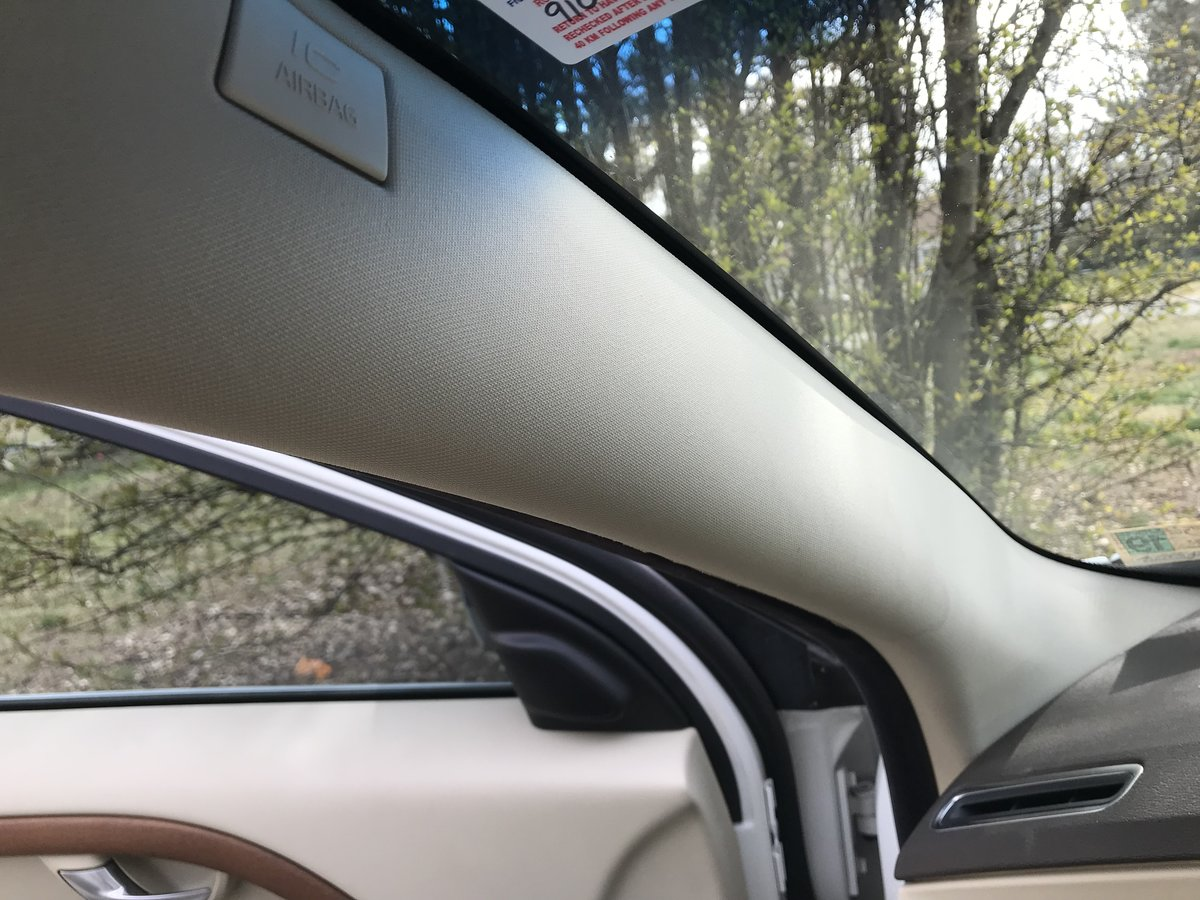 Left hand passenger side for Volvo s80 2007-2016 wing mirror glass
