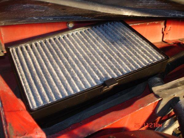 file - Installing Volvo 850 Cabin Air Filter