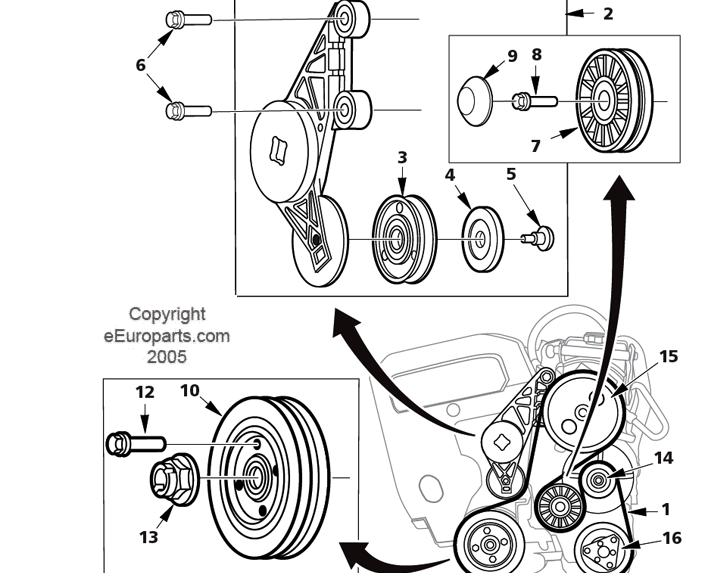 Timing Belt /Serpentine Belt Change In Progress Questions