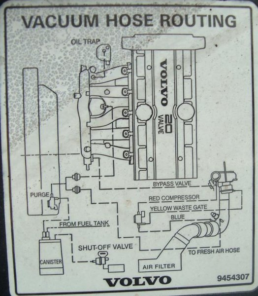 2000 V70 Xc Vaccum Diagram: Replacing TCV Hoses