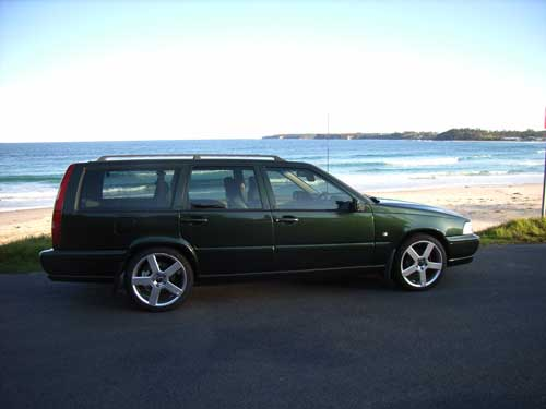 will 18inch pegasus fit a 1998 V70?