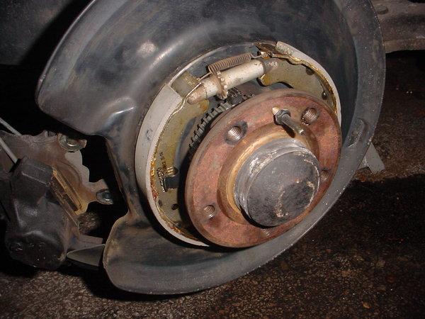 Repair Times  Volvo V Handbrake Shoes