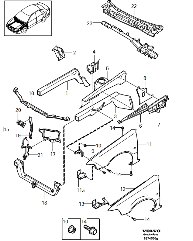 volvo 240 engine fuse diagram