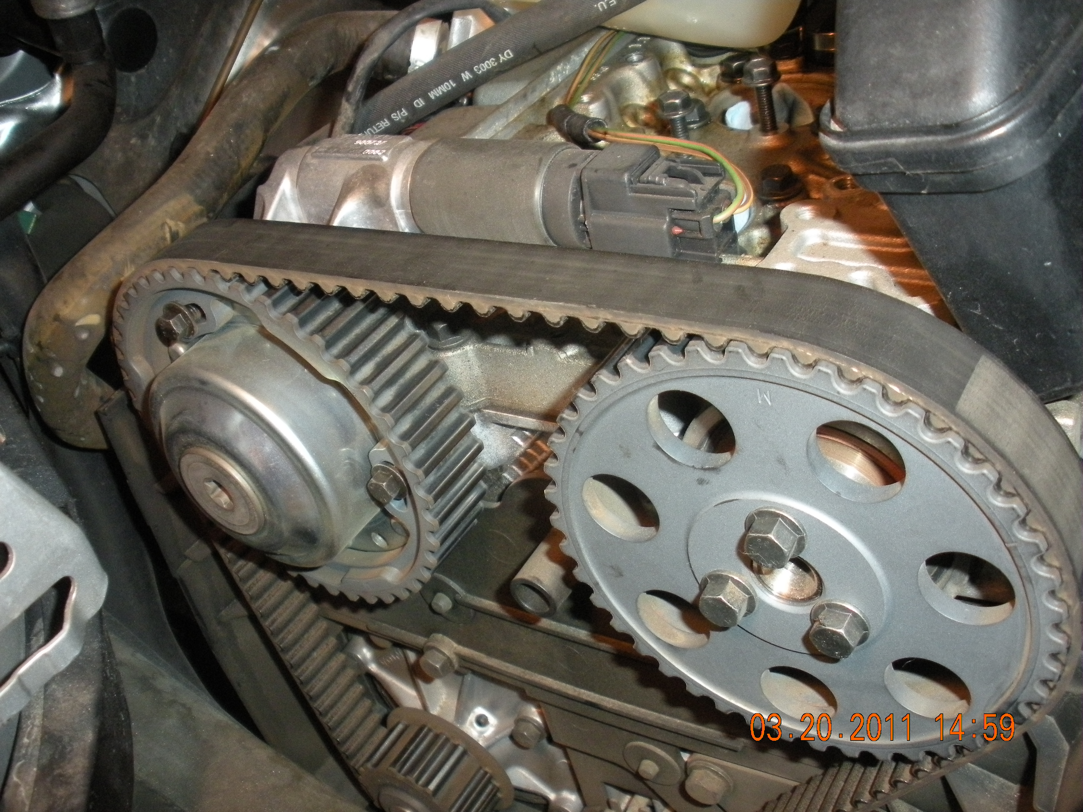 Timing belt and water pump = MISERABLE SEVEN HOUR ORDEAL!