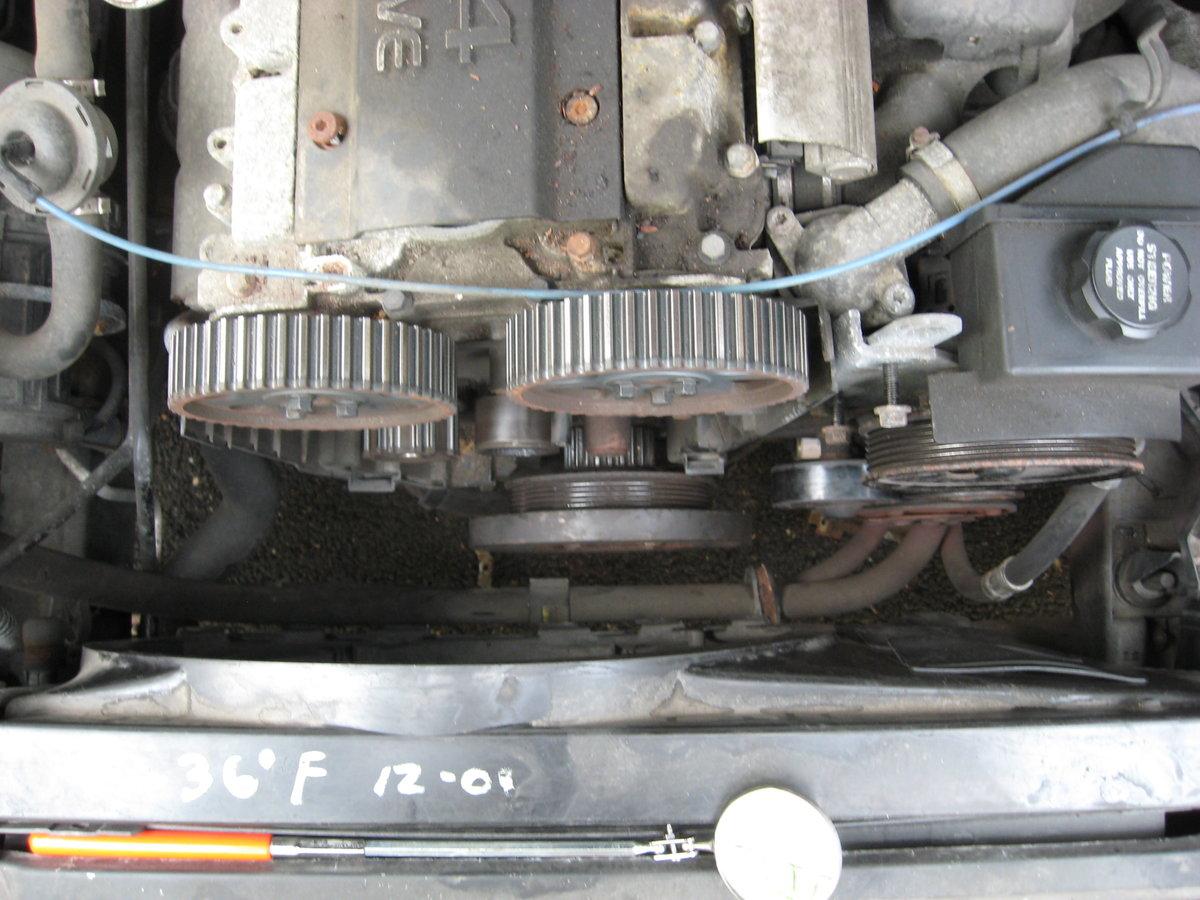 1996 960 Front Engine Squeal Result Volvo 240 Alternator Belt Img 0860 No