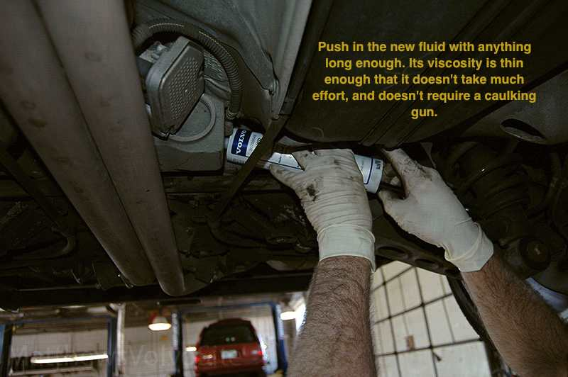 How To Change Haldex Fluid On Awd P2 Volvos