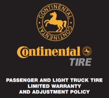 Continental Tire Warranty PDF