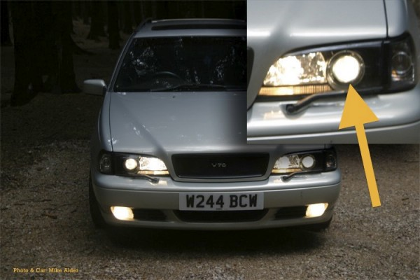 Volvo Headlight Projector Lens
