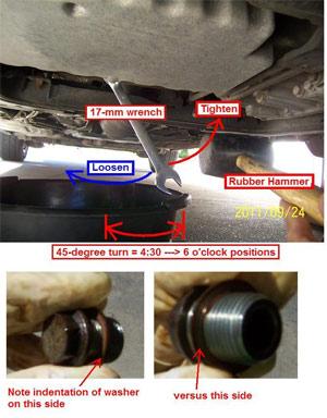 Volvo 850, S70, V70, XC70, C70 gen.1 easy oil change DIY