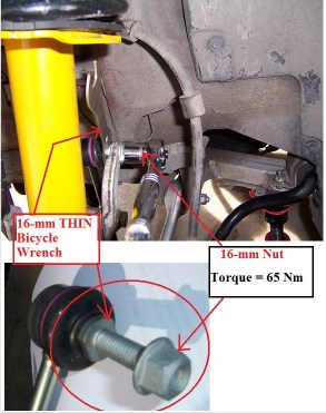 Volvo V70 Front Strut Replacet Supplet - Matthews Volvo Site