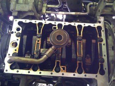 S40 Oil Pan Removal & O-Ring Replacement - Matthews Volvo Site