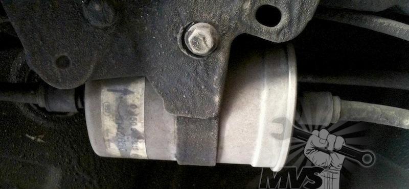 change fuel filter tutorial