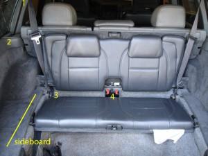 Volvo Dismantlers third row seat