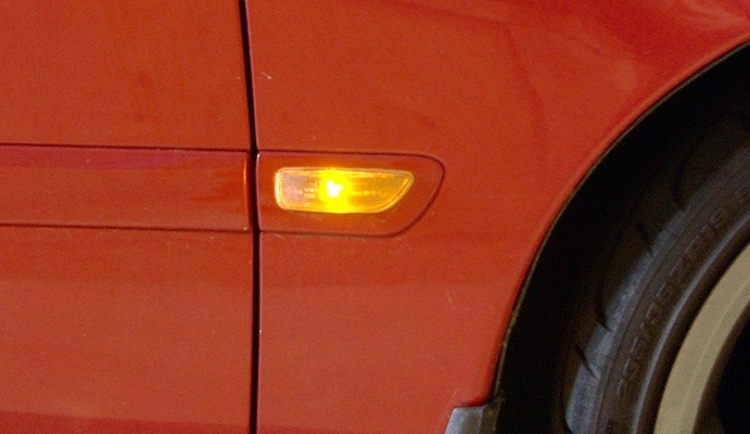 side marker lights
