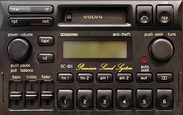 VOLVO SC-810 RADIO