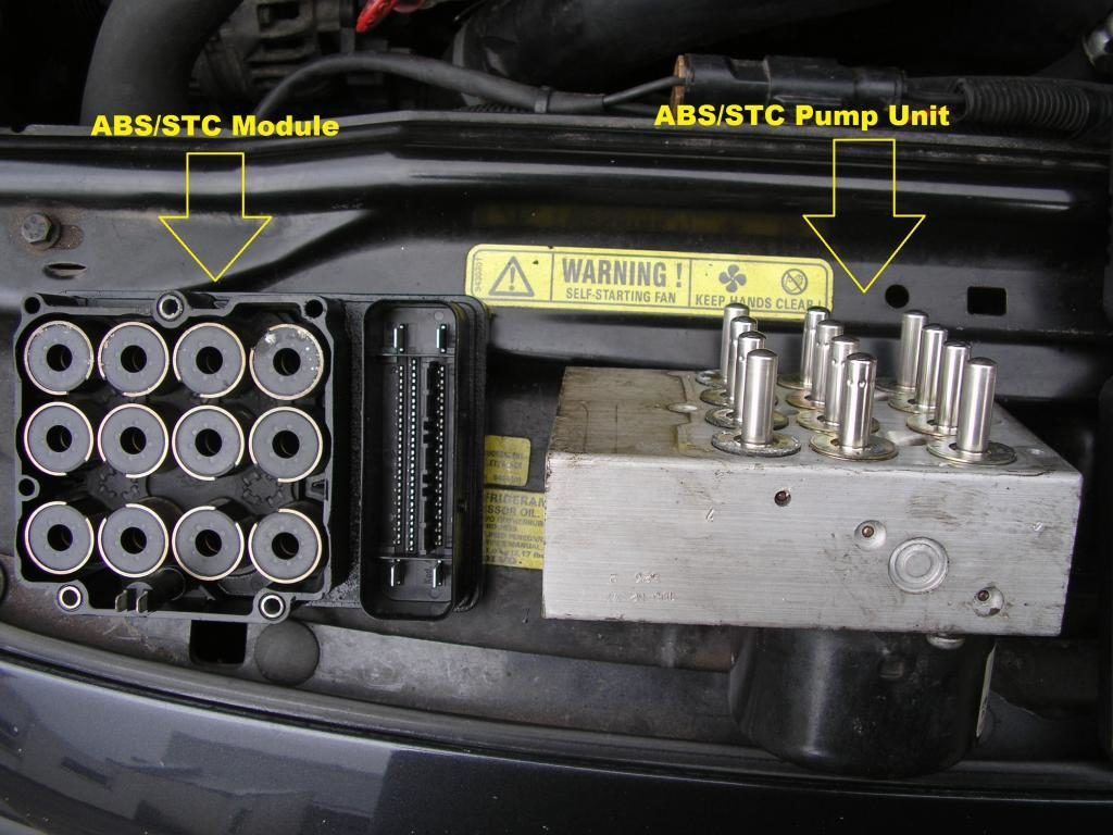 volvo vn abs module location