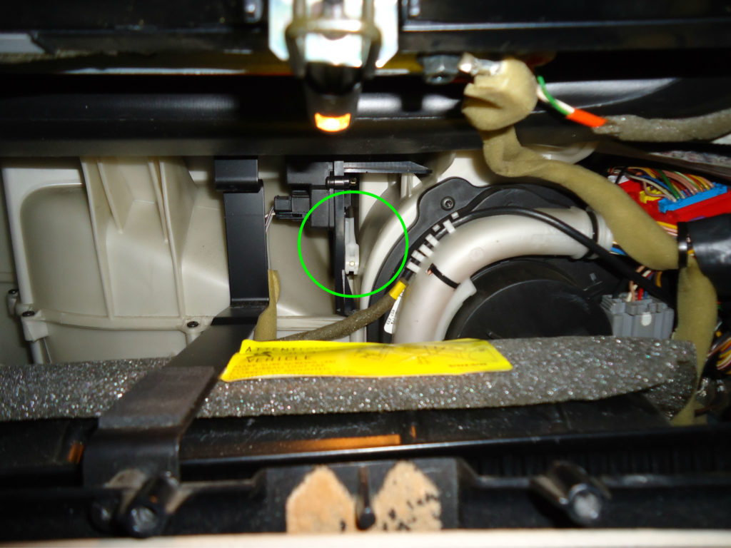 Volvo recirculation vent motor mvs for Volvo 850 blower motor