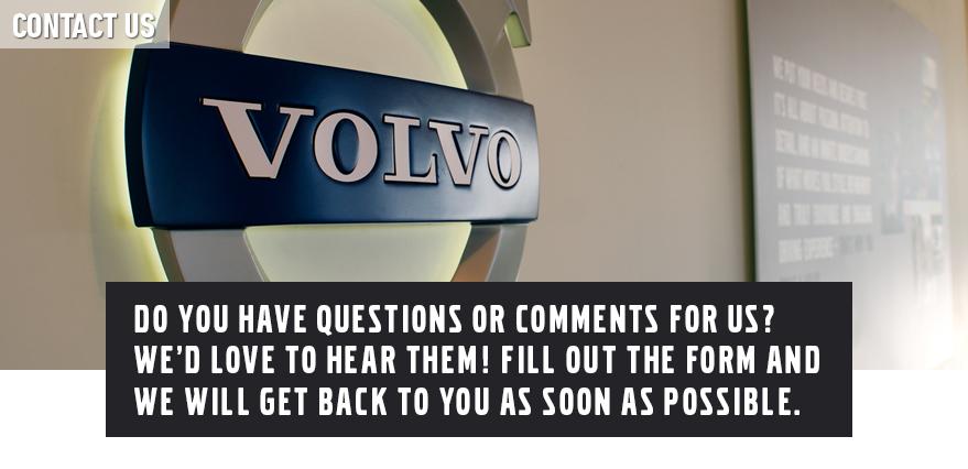 contact volvo