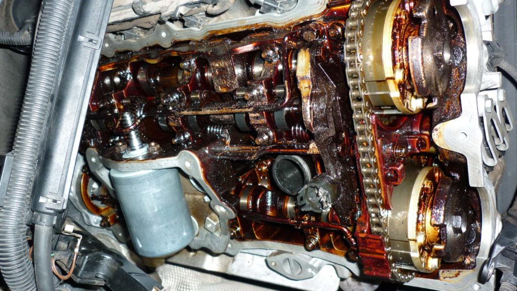 volvo engine sludge