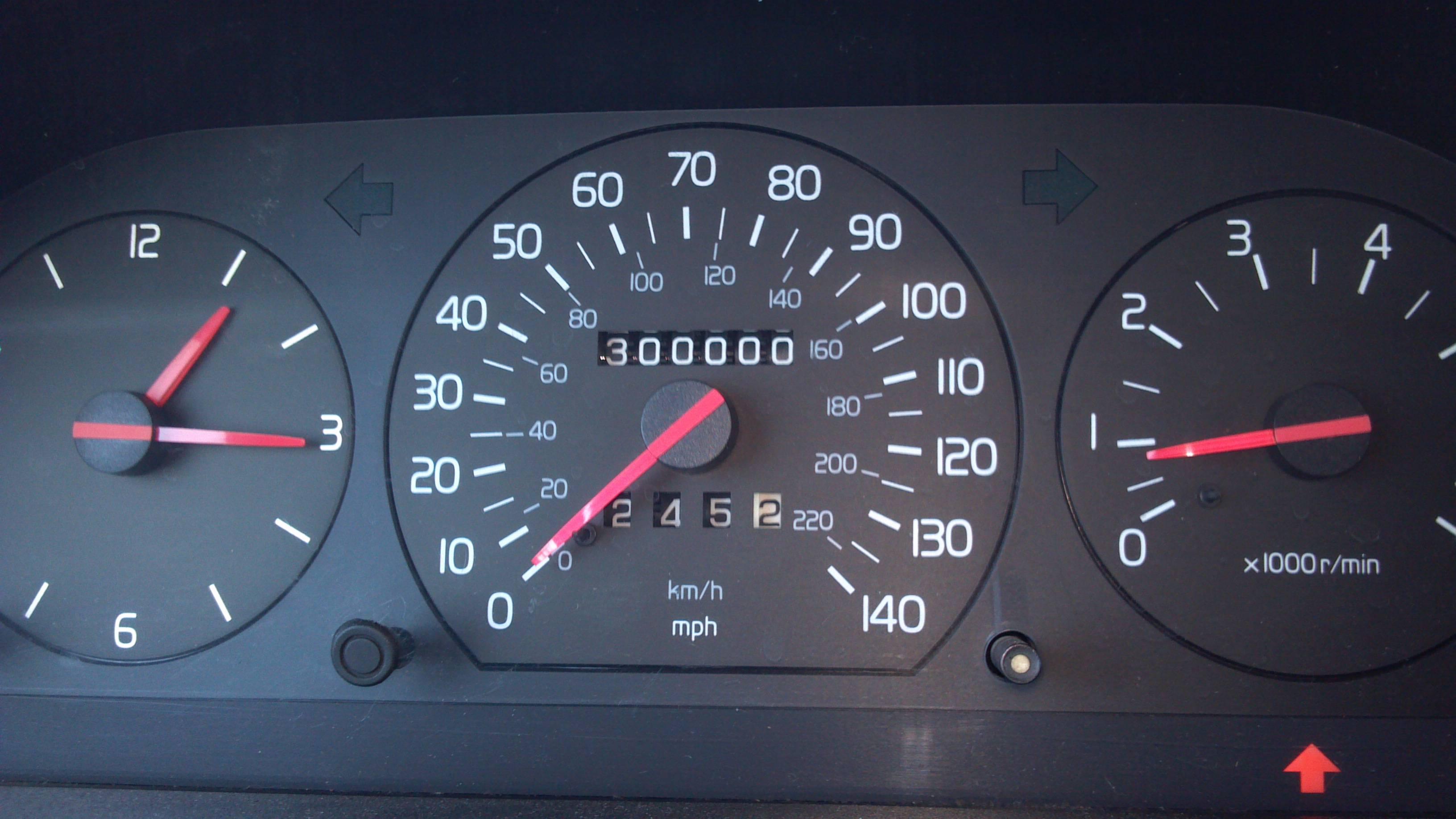 Volvo ecu miles