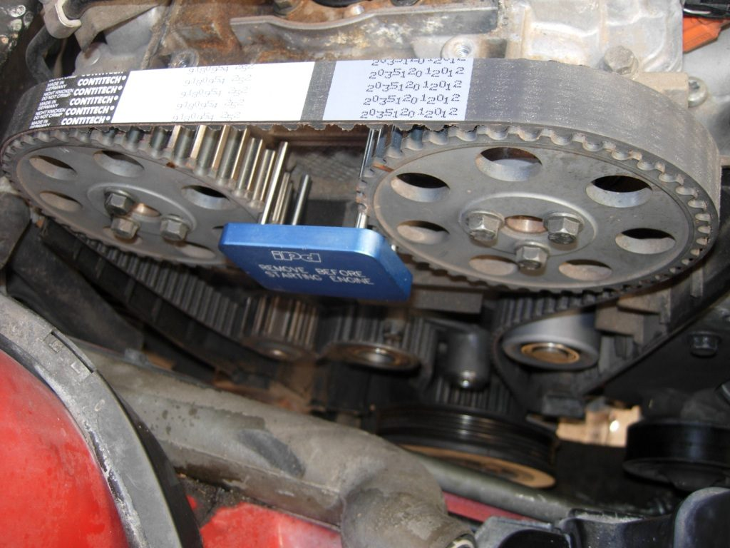 Volvo Timing Belt X on Volvo 850 Timing Belt Replacement