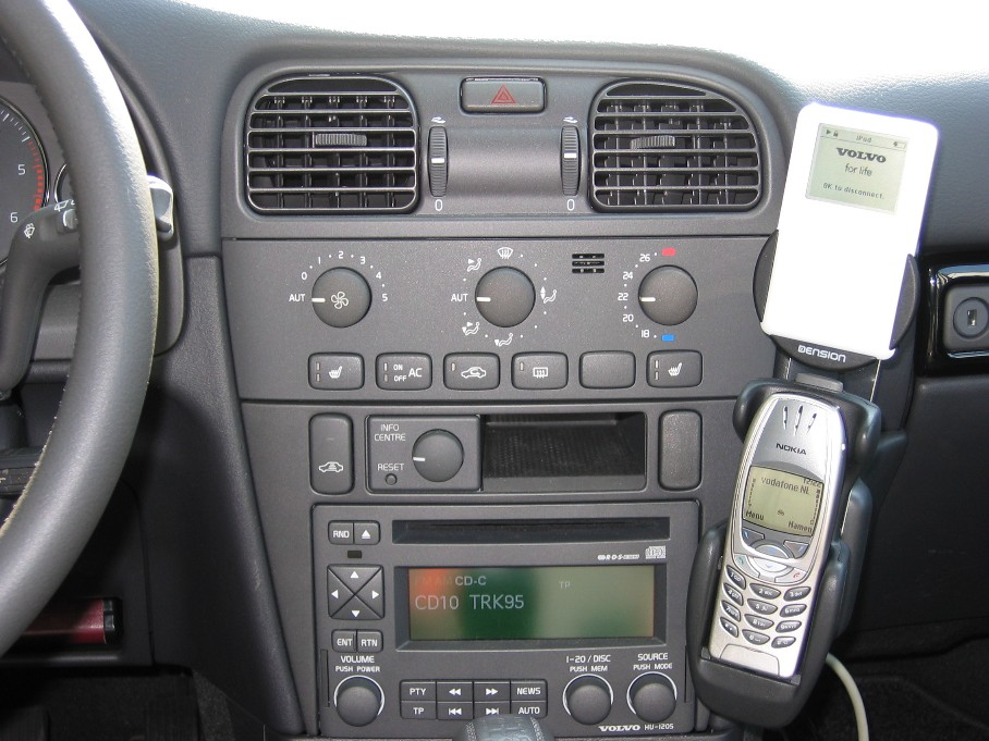 ipod volvo connection