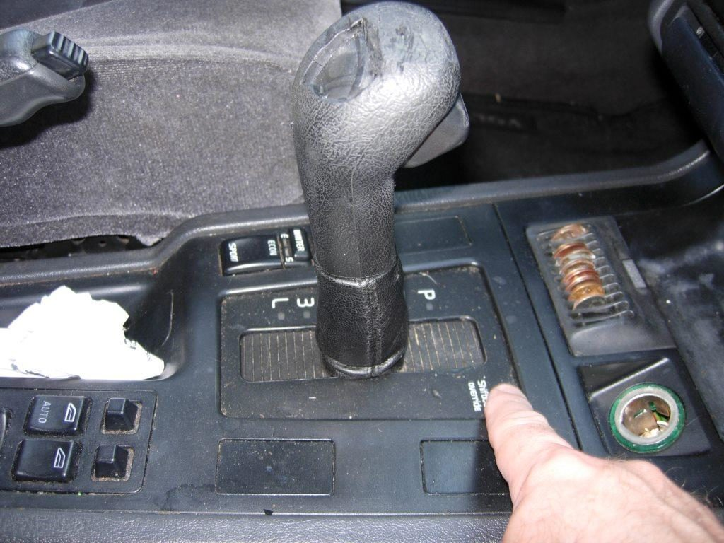 volvo shiftlock
