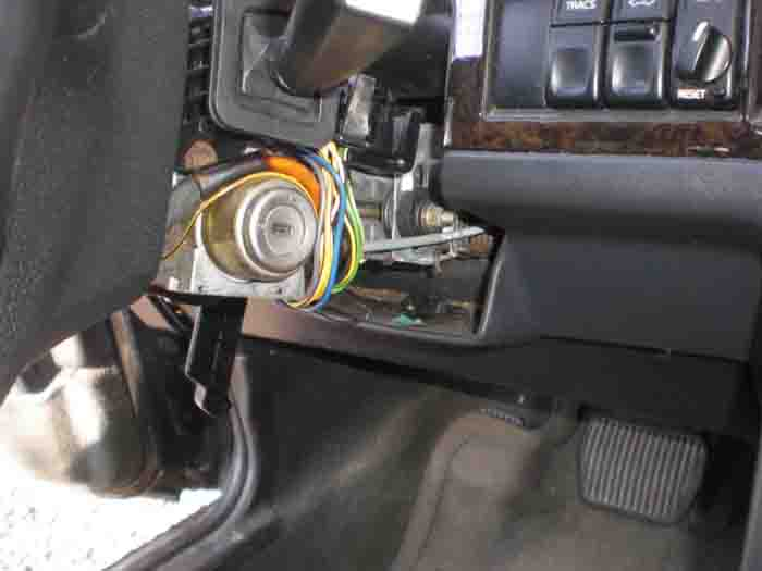 volvo ignition switch