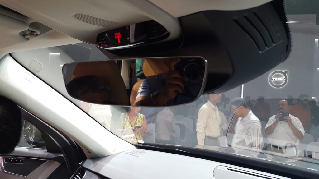 volvo rearview mirror