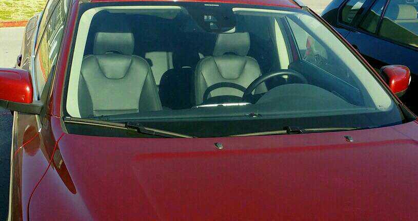 volvo windshield