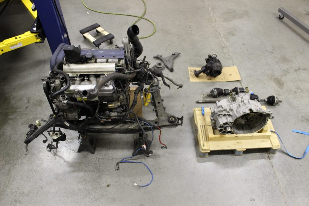 Volvo Of Phoenix >> Replacing an Volvo 850 Transmission - MVS